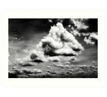 P1000130 [Clouds - BW] Art Print