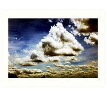 P1000130 [Clouds - Color] Art Print