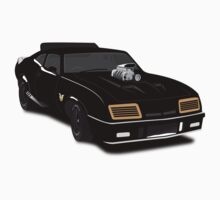 Max's Black V-8 Interceptor