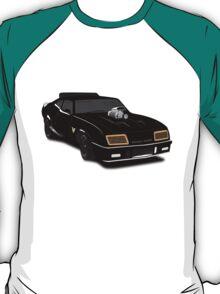 Max's Black V-8 Interceptor T-Shirt