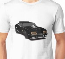 Max's Black V-8 Interceptor Unisex T-Shirt