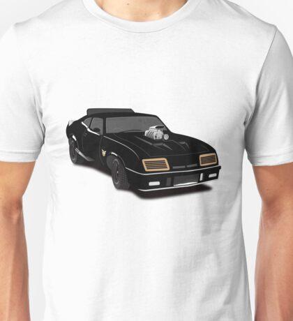 Max's Black V-8 Interceptor Unisex T-Shirt