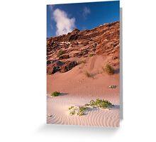 Mandalay Beach Cliffs 2 Greeting Card