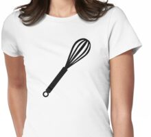 Egg whip Womens Fitted T-Shirt