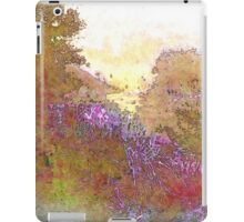 Listen to the Stillness iPad Case/Skin