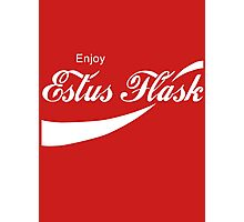 Coca Cola Estus Flask Photographic Print