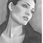Angelina Jolie by Paul Starkey