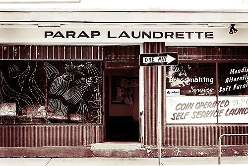 Parap Laundrette by Jules Campbell