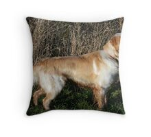 Gun Dog????? Throw Pillow