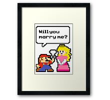 Super Marry'o Framed Print
