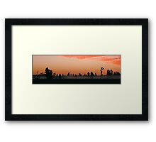 Florida Wilderness Sunrise Framed Print