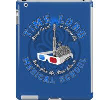 Time Lord Medical School 10 iPad Case/Skin