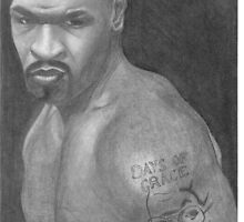 Mike Tyson by Paul Starkey