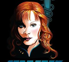 Dr. Beverly Crusher by heidiruff