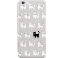 Black Cat of the Family iPhone Case/Skin