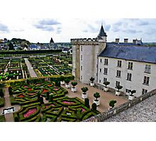 Villandry Castle - Loire Valley - France 3 Photographic Print