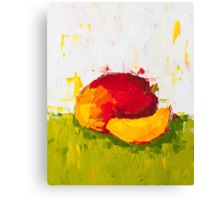 Fruity Mango Canvas Print