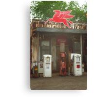 Route 66 Vintage Pumps Canvas Print