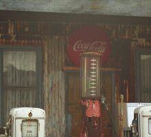 Route 66 Vintage Pumps Sticker