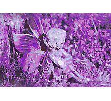 Away with the Fairies - Purple Haze Photographic Print
