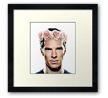 Benedict Flowerbatch Framed Print