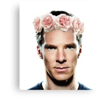 Benedict Flowerbatch Canvas Print