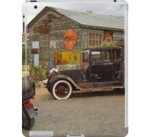 Route 66 Vintage Auto and Shed iPad Case/Skin