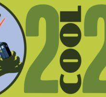 The OFFICIAL 2 COOL 2 GEEK Logo Sticker