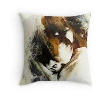 A Mothers Touch Throw Pillow