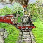 Steamtrain Puffing Billy by Pete Morris