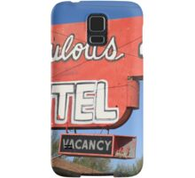 Route 66 - Fabulous 40 Motel Samsung Galaxy Case/Skin
