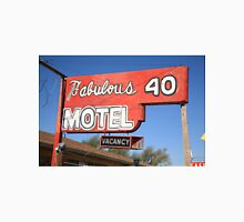 Route 66 - Fabulous 40 Motel Unisex T-Shirt