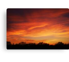 Tuesday - Sunset Canvas Print