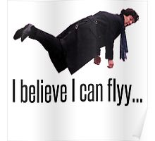 Sherlock CAN Fly!!!!!! Poster