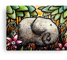 Ellie Elephant Canvas Print