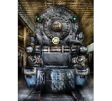 Norfolk Western, Class A - 1218 - Front View Photographic Print