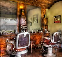 The Barber Shop by Mike  Savad