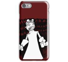 Doctor Horrible - Transparent Evil Laugh iPhone Case/Skin