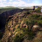 Malutsanyane falls, Semonkong, Lesotho by John Shortt-Smith