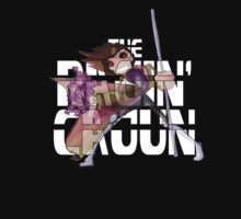 The Ragin' Cajun (Gambit; Black Background) Kids Tee