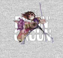 The Ragin' Cajun (Gambit; Black Background) One Piece - Long Sleeve