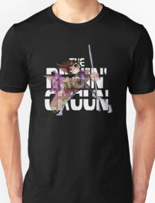 The Ragin' Cajun (Gambit; Black Background) T-Shirt
