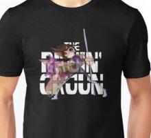 The Ragin' Cajun (Gambit; Black Background) Unisex T-Shirt