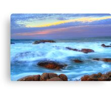 Moving past  Canvas Print
