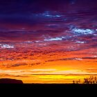 Sunrise @ Uluru by Steven Pearce