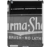 Baseball Field - Burma Shave iPad Case/Skin