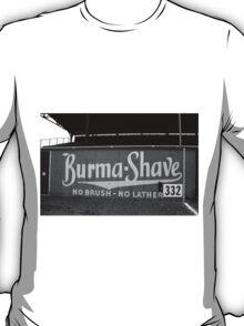 Baseball Field - Burma Shave T-Shirt