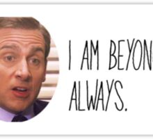 Michael Scott-The Office Sticker