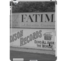 Old Time Baseball Field iPad Case/Skin