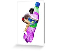 dirty sprite chief keef Greeting Card